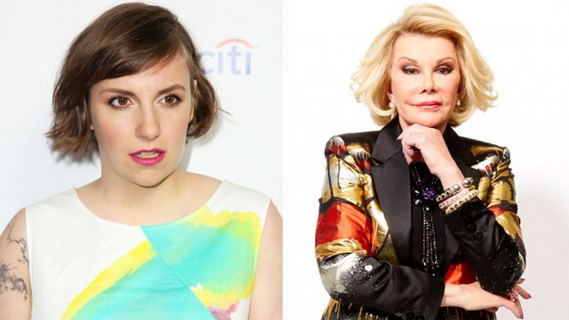Joan Rivers Is Hollywood's Biggest Troll, Claims Lena Dunham Is Spreading Diabetes