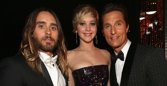 Jared Leto Believes Jennifer Lawrence's Oscar Fall Was An Act