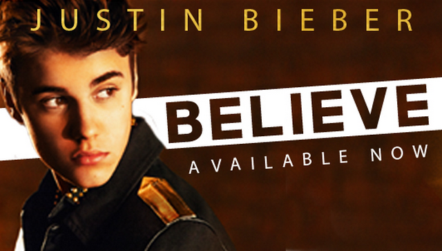 """Thousands Of Justin Bieber Fans Disappointed After Struggling Artist Replaces Bieber's """"Believe"""" With His Own CD"""