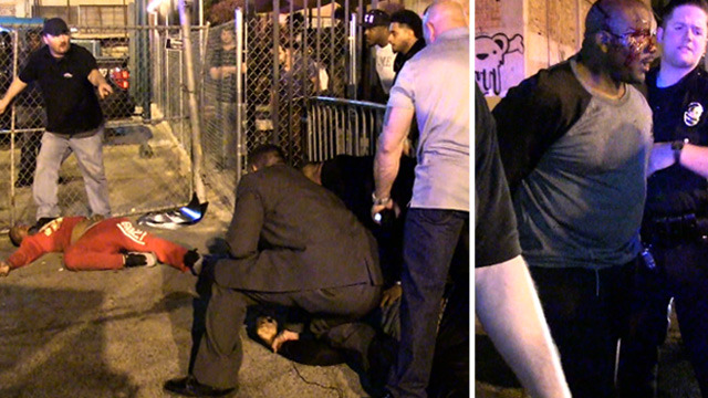 Game And T.I. Involved In Brief Standoff With Police After Scary Fight Outside Club (VIDEO)
