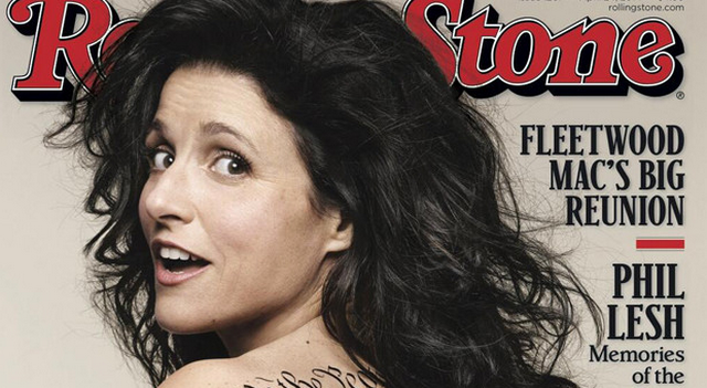 Julia Louis-Dreyfus Is Butt-Naked For The Cover Of Rolling Stone! (PHOTOS)