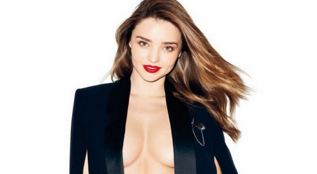 Miranda Kerr Strips Down For GQ And Talks About Sex, Baby