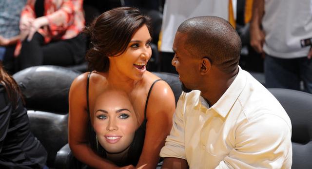 "Survey Says The ""Perfect"" Woman Has Kim Kardashian's Breasts And Megan Fox's Face"