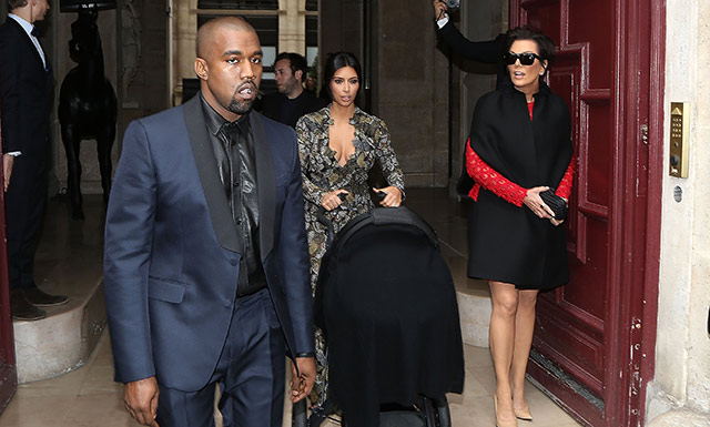Kim and Kanye's Pre Wedding Brunch…At Valentino's Palace! (12 Photos)