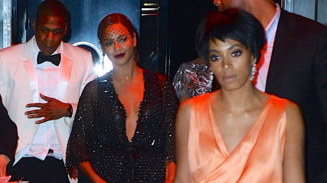 Beyonce's Sister Solange Physically Attacks Jay Z Inside Elevator (VIDEO)