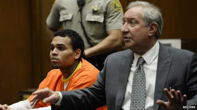 Chris Brown Looking Rough After Spending Over A Month In Jail (PHOTOS)