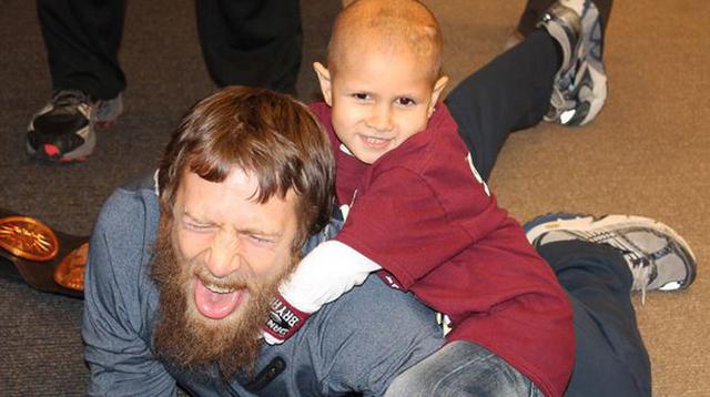 Pro Wrestling Superstars Grant Dying Wish: Connor Michalek Meets His Hero (VIDEO)