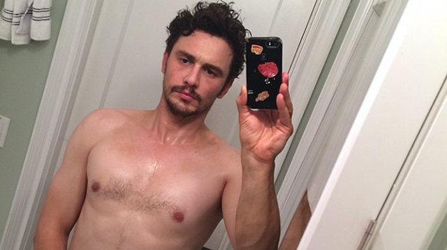 James Franco Frightens The Internet With Nearly Nude Instagram Selfie