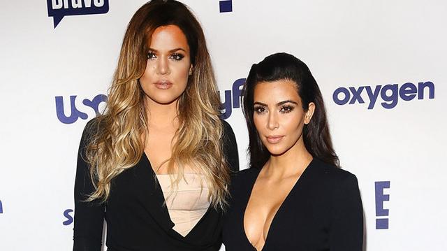 "Kim Kardashian Shows Off Insane Cleavage, Khloe Kardashian Admits They Do ""Vagina Checks"""