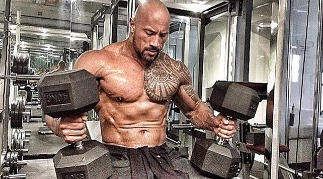 The Secret to 'The Rock' revealed.  Dwayne Johnson reveals intense workout and diet.