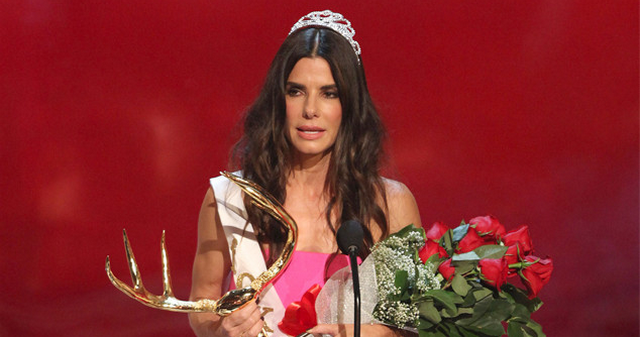 Sandra Bullock Dodges Bullet After Man Breaks Into Home While She Was Inside!