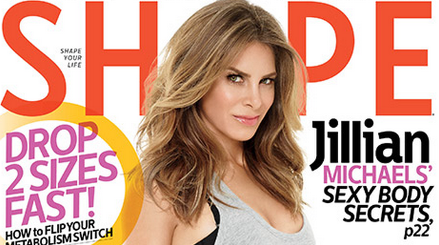 Jillian Michaels Poses Nude For Shape Magazine, Admits To Wanting A Better Butt (PHOTOS)