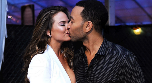 Chrissy Teigen And John Legend Rescue Three-Legged Dog, See The Adorable Photos Inside!