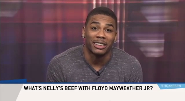 """Nelly Cooks Beef with Floyd Mayweather – """"It's Hard Talking to Someone who Hasn't Graduated High School"""""""