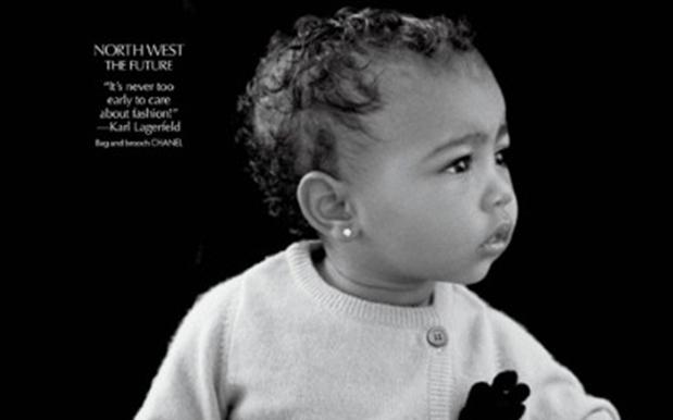 Baby North West Makes solo Fashion Debut – Despite Kanye's Hypocritical Rants