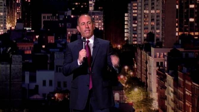 Is Jerry Seinfeld still funny? Watch his five minute bit from last week on 'Letterman' (Video)