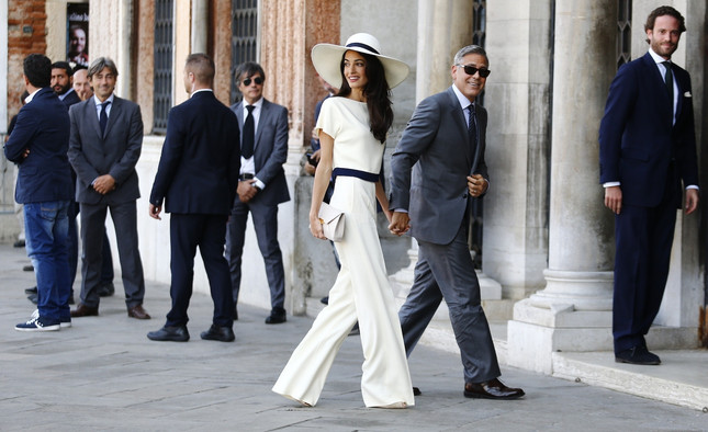 George Clooney Finally Ties the Knot