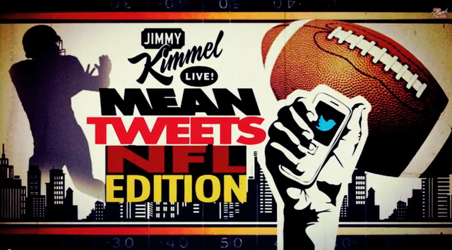 Watch: NFL Players Read Mean Tweets On 'Jimmy Kimmel Live'