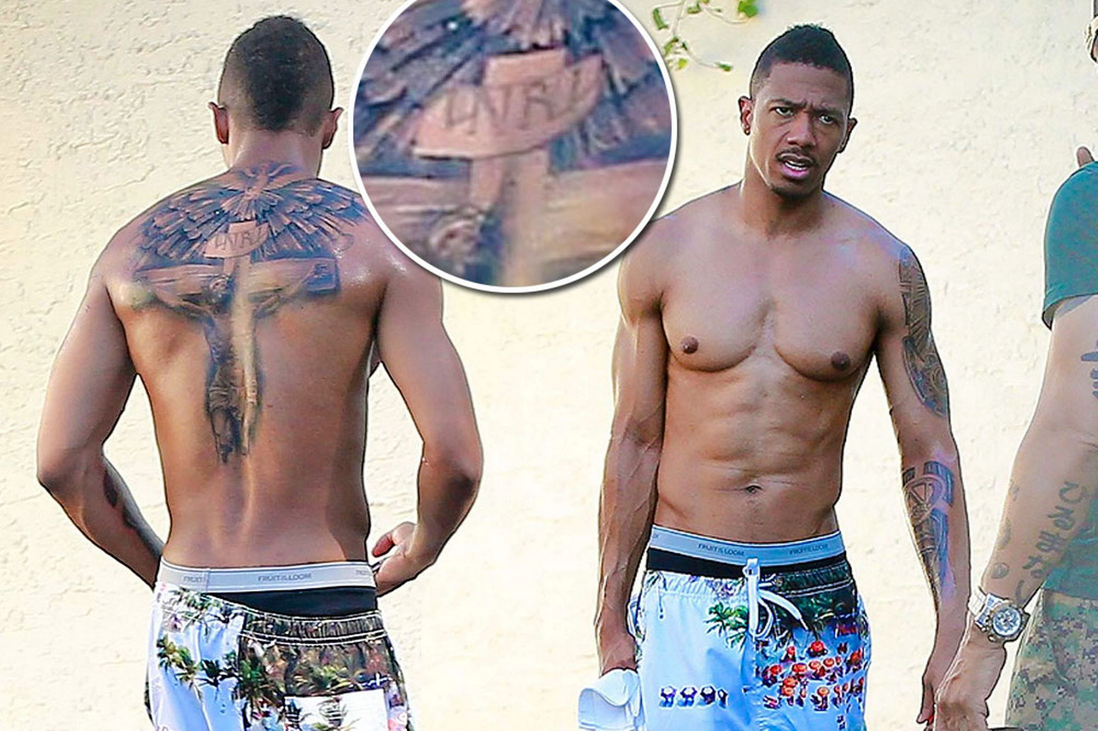 Nick Cannon Reveals huge Cover-Up Tattoo, Signifying the End of his Marriage with Mariah!