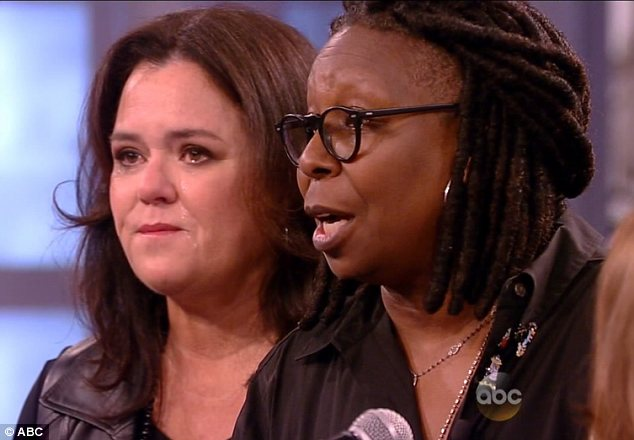 A Fed Up Whoopi Goldberg Curses Rosie O'Donnell out during the taping of The View