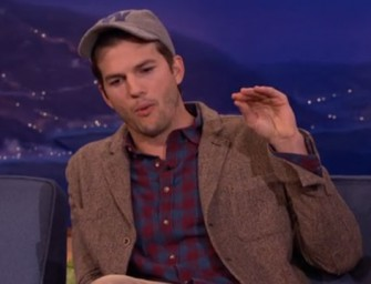 Ashton Kutcher Talks About Being A Father For The First Time, Admits He Is Super Dad