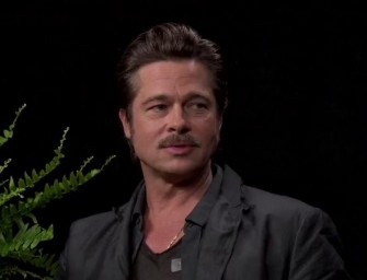 Zach Galifianakis And Brad Pitt Team Up To Create Hilarious Interview (VIDEO)