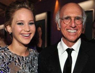 Larry David Receives Word That Jennifer Lawrence Has The Hots For Him: New Couple Alert?
