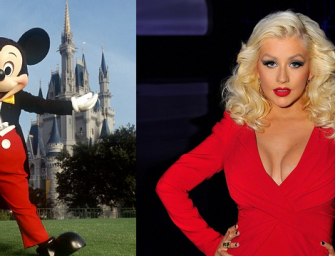 Did Christina Aguilera Really Call Mickey Mouse An A**hole During Meltdown At Disney Park?