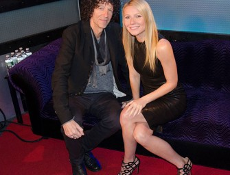 Gwyneth Paltrow's Lengthy Interview With Howard Stern Proves She Can Be Likeable!