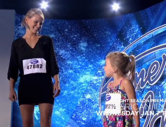 Watch The Cutest Girl Ever Sing 'Let It Go' For The American Idol Judges (VIDEO)