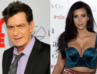 Charlie Sheen Attacks Again, And This Time He's Going After Kim Kardashian And Her Huge Butt