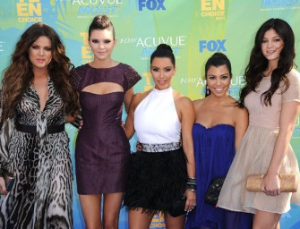 Kim, North West, Khloe, Kylie involved in Car Accident during Montana Ski Trip