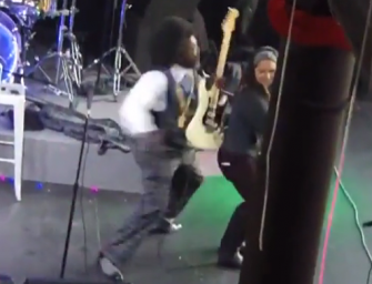 Afroman Delivers INSANE Punch To Female Fan On Stage, We Have The Shocking Video!