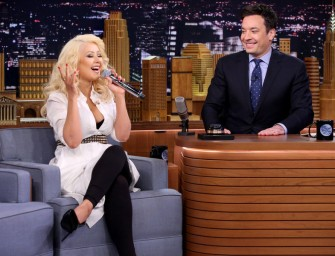 Must Watch: Christina Aguilera's Britney Spears Impression Is Making Us Question Everything!