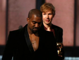 Kanye West Rants After Beck Wins Album Of The Year Over Beyonce (VIDEO)
