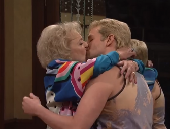 Watch: Bradley Cooper And Betty White Making Out Is The Sexiest Thing You'll See Today