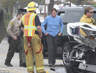 Bruce Jenner Was Driving 38 MPH Before Crash, Sources Say Charges Are NOT Likely