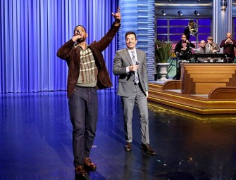 The Perfect End To Your Week: Will Smith And Jimmy Fallon Rock The House With 'It Takes Two'