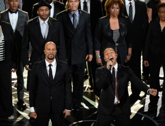 John Legend And Common Made Everyone Cry With 'Glory' Performance At The Oscars (VIDEO)