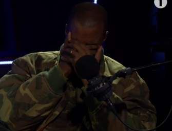 Watch: Find Out Why Kanye West Started Crying During BBC Interview