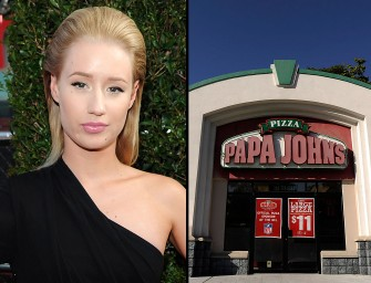 Iggy Azalea Is In Some Weird Feud With Papa John's Pizza, Find Out Why She's Pissed Inside!