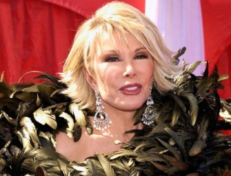 Joan Rivers Left Out Of The Oscars' In-Memoriam Tribute, Academy Releases Statement Addressing The Issue!