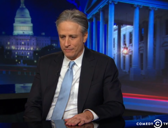 Watch: Jon Stewart Announces He Is Leaving 'The Daily Show' To Shocked Studio Audience
