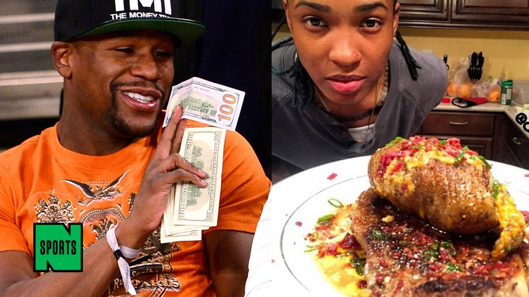 20MAR2015 – Floyd Mayweather and Quiana Shanai Jeffries