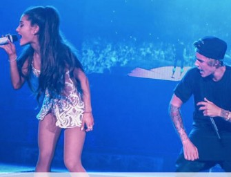 Justin Bieber Shocks Fans With Surprise Duet During Ariana Grande Concert, Find Out Why He Had To Apologize! (VIDEO)