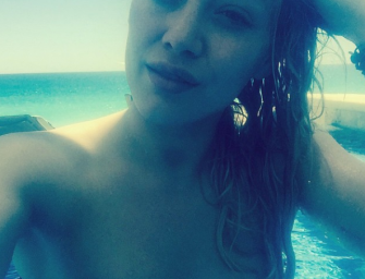 Hilary Duff Shows Off Impressive Bikini Body, Encourages Other Mothers To Do The Same