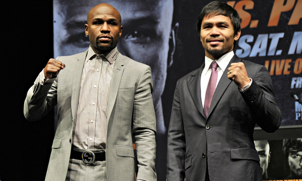 Floyd Mayweather v Manny Pacquiao boxing press conference, Los Angeles, America – 11 Mar 2015