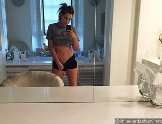 Introducing Super Skinny Khloe Kardashian And Her Abs.  Read Her Inspiring Words About Getting Fit