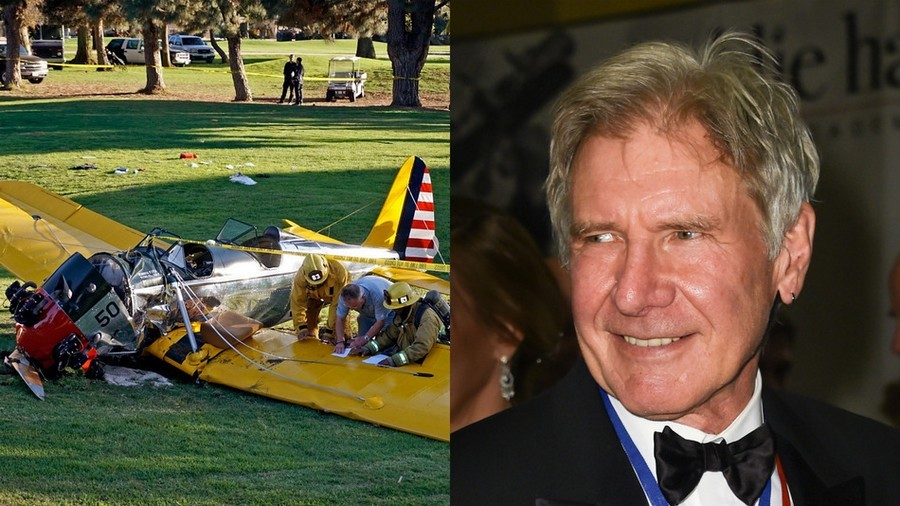 Harrison Ford Suffers Multiple Injuries After Crashing Plane On A Golf Course