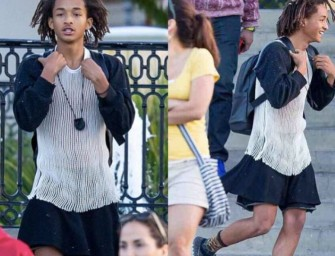 """I Need Attention"" Will Smith's Son Jaden Cross-dresses at Coachella."